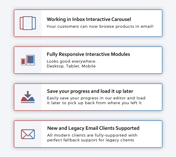 Interact Interactive Email Templates Robust Editor By Robustdesigns